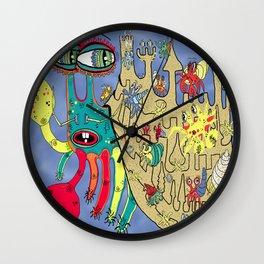 Downton Crabbey Wall Clock