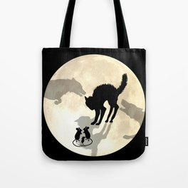 Circle Of Life Moon Tote Bag