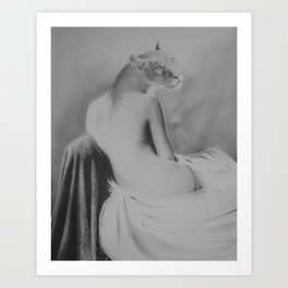 She had pride Art Print