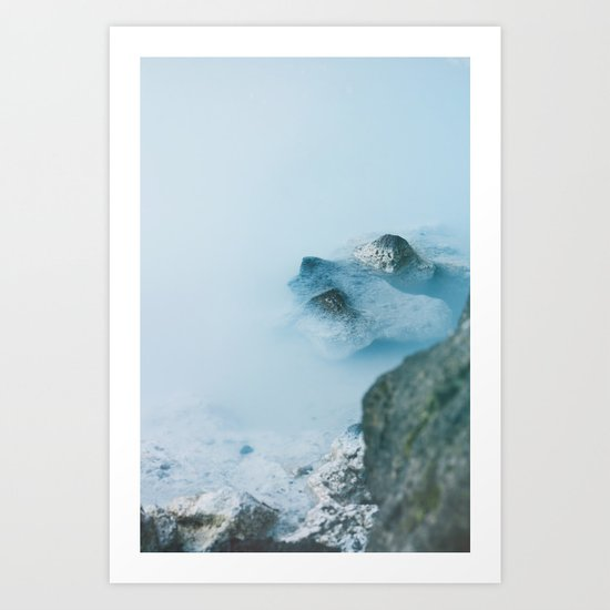 The Blue Lagoon Art Print