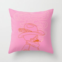 Love or Die Tryin' - Cowhand Throw Pillow