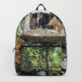 Pierre-Auguste Renoir - The Grenouillere - Digital Remastered Edition Backpack