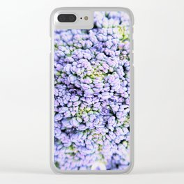 vegetable pattern Clear iPhone Case