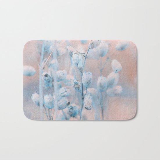 Wild flowers(winter) Bath Mat