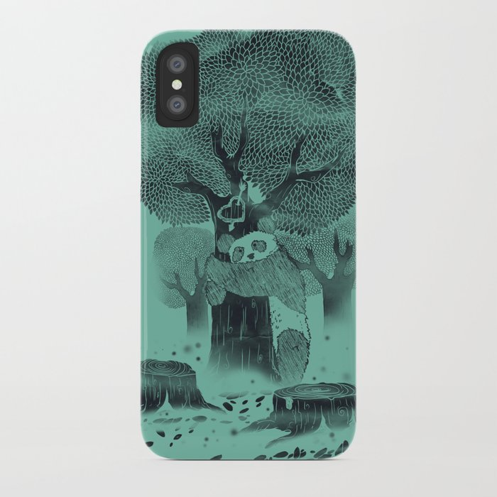The Tree Hugger iPhone Case