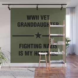 WWII Granddaughter Heritage Wall Mural