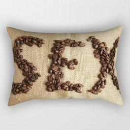 SEX - Coffee beans Rectangular Pillow