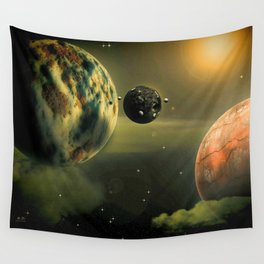 Space One Wall Tapestry