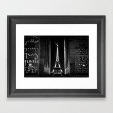 Peace ... Eiffel Tower Framed Art Print