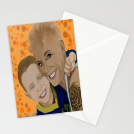 debbie and brody 1 Stationery Cards