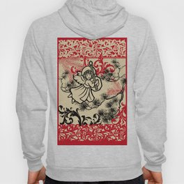 angel bringing a happy holiday message Hoody