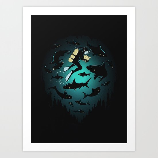 Screwed Art Print