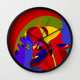 Missed Fate Wall Clock