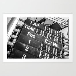 Time's up. Art Print