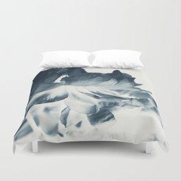 Blue Paeonia #2 Duvet Cover