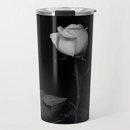 black rose Travel Mug