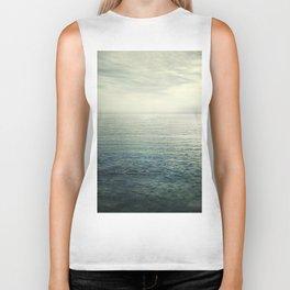 Calm at the sea. Summer dreams Biker Tank