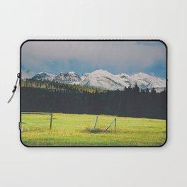 Glacier Park Meadow Laptop Sleeve