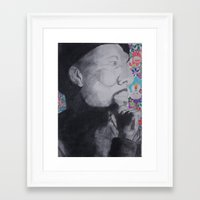 murakami Framed Art Prints featuring Common Murakami by Jeremy Tolbert (A.M.P. Artwork)