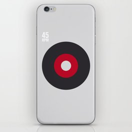 45 RPM iPhone Skin