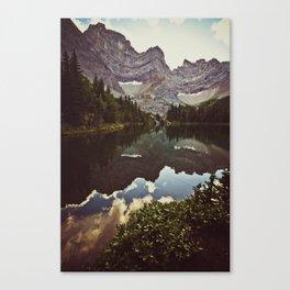 tombstone lake Canvas Print