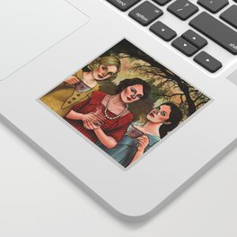 The Crawley Sisters Sticker