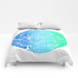 Swirls Comforters
