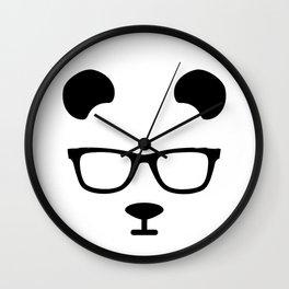 Nerd Panda Wall Clock