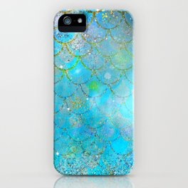 Mermaid Shimmer iPhone Case