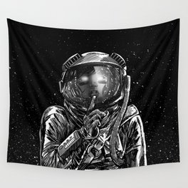 The Secrets of Space Wall Tapestry