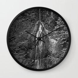 Marymere Falls Wall Clock