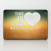 laura palmer iPad Cases featuring Bastille - Laura Palmer #4 (This Is Your Heart, Can You Feel It?) by Thafrayer