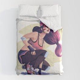 Roller Derby Girl Comforters