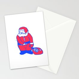 Present from santa Stationery Cards