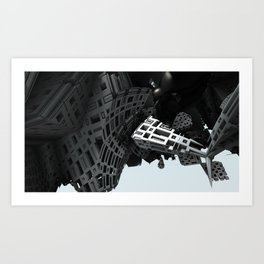 Bunk 5 Art Print