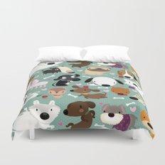 Dog pattern Duvet Cover