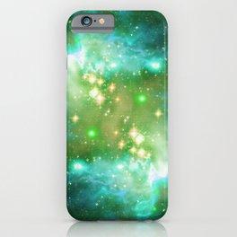 Tiny Lens Textured Nebula iPhone Case