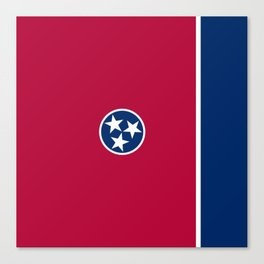 Tennessee State Flag Canvas Print
