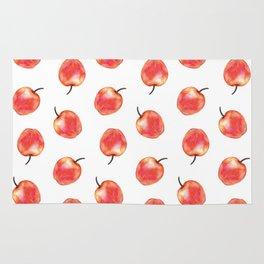 apples pattern Rug
