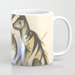 "Franz Marc ""Two Wolves"" Coffee Mug"