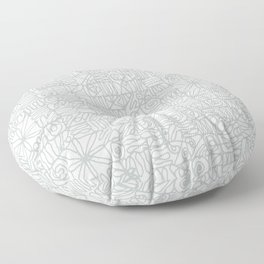 Be square. Be Serene. Be present. Floor Pillow
