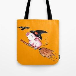 Pigs Fly in Salem Tote Bag