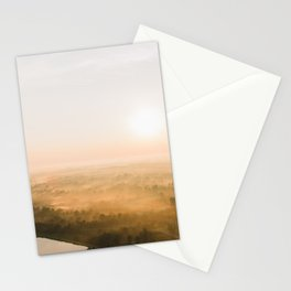 Kentucky Dawn from the Air Stationery Cards