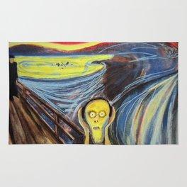 the scream silenced Rug