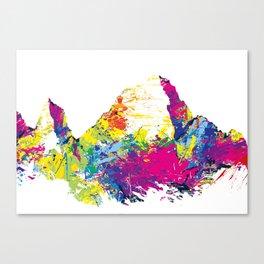 Mount Whitney USA mountainsplash Canvas Print