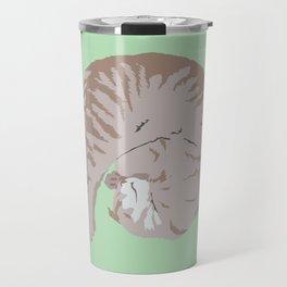 Buff Tiger Travel Mug