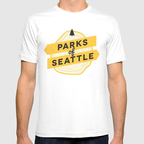 Parks of Seattle T-shirt