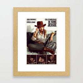 Una Fuorilegge di nome Jessie Framed Art Print