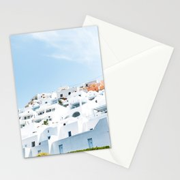 Lost in Santorini Greece Stationery Cards