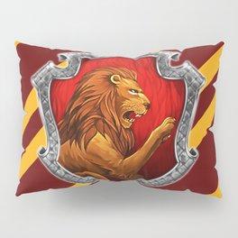 Gryffindor Hogwarts Stripes Pillow Sham